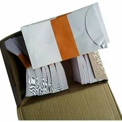 White 7x4 Inch Paper Envelopes, For Courier, Rectangular