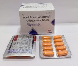 Acelofenac Paracetamol & Chlorazoxazone Tablats