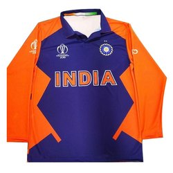 Polyester Cricket Mens Sports T Shirt, Size: S-XXL