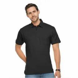 Single Jersey Plain Raffle Men Tshirt