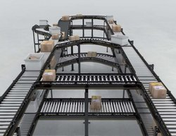 Stainless Steel Flexible Conveyors Material Handling Conveyor