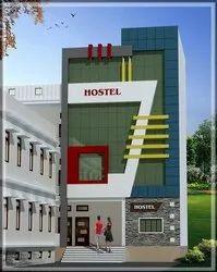 Modular Commercial Building Construction Work