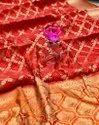 Silk Party Wear Weaving Patola Saree