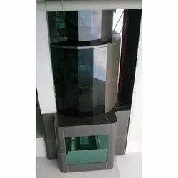 Curtain Wall Glazing Service, For Decoration