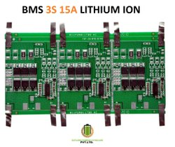 BMS 3S 15A LITHIUM ION