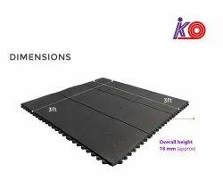 Interlocking Gym Floor Mat with Sound resistance