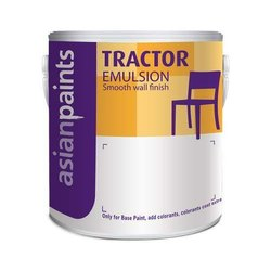 Soft Sheen White Tractor Emulsion Paints 20LTR, For Interior Walls