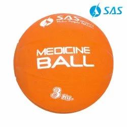 Rubber Medicine Ball 3 Kgs