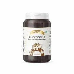 Vizyon Chococover Ganche Sauce ( Bitter Chocolate)- Bakersville India Pvt Ltd