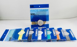 N95 Mask With Inside Nosepin