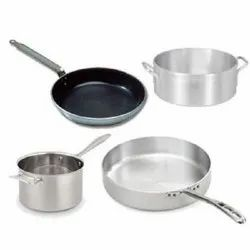 Steel Fry Pans And Sauce Pans