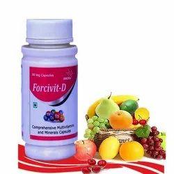 Forcivit-D Comprehensive Multivitamins And Minerals Capsules, 90 Veg Capsule