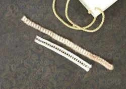 Cotton With Jute lace