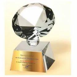 CG 105 Diamond Star Crystal Trophy