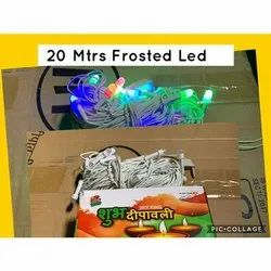 Ceramic Flickering 20 Meter Frosted Led Decorative Light, For Decoration