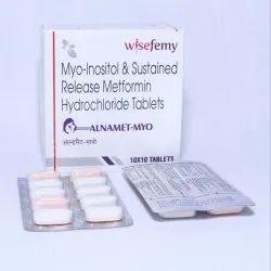 Metformin 500sr   Myo Inositol  600mg