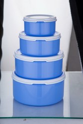 Plastic Multipurpose Storage Containers Set for Kitchen 4 pcs Set