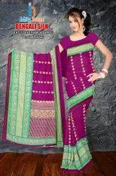 Bengali Silk Saree With Blouse