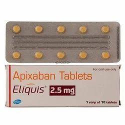 Eliquis Tablet ,  Apixaban 2.5mg / 5mg