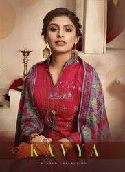 Kavya Pashmina Winter Suits Catalog Collection 2020
