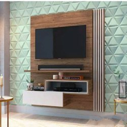 TV Unit Wall Panelling Woork