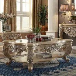 Malik Furniture Teak Wood CENTRE TABLE