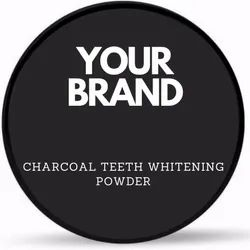 Charcoal Teeth Whitening Powder, For Personal, Packaging Size: 50 Gm