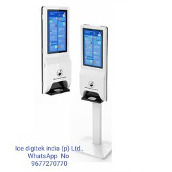 Wall mounted large capacity automatic hand sanitizer dispenser soap dispenser automatic