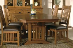 Brown 4 Seater Wooden dining table, For Home