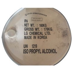Isopropyl Alcohol (IPA), >99%, 200 litres drum, used in skin & hair products