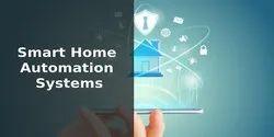 依赖节点的家庭自动化系统与一个应用