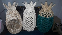 Macrame Baskets, Size/Dimension: 25x40 Cm