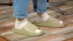Adidas Yeezy Slides Resin Coconut Full Resin Yellow Unisex Slippers Sandals