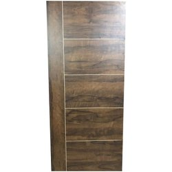 Brown Mica Laminate Door, Size/Dimension: 78x36 Inch