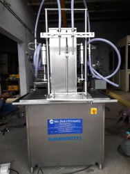 Mate Or Mirror Stainless Steel Honey Filling Machine, 2 Hp, Capacity: 35-45 Bottle Per Min