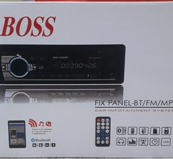 Boss Bluetooth USB SD Input Car Stereo System, Model Name/Number: UNP-FMRXBT001500
