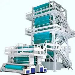 Multi Color Mulch Film Making Line
