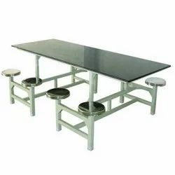 Designer SS Eight Seater Dining Table