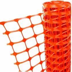 Orange Plastic Site Safety Barricading Fence