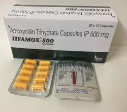Amoxycillin Trihydrate IP 500mg Capsules