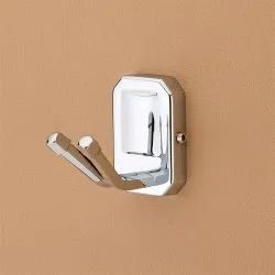 SILVER Plantex Cl Stainless Steel 304 Ct Robe Hook, For GENERAL, Size: 8 X 7.49 X 5.79 Cm