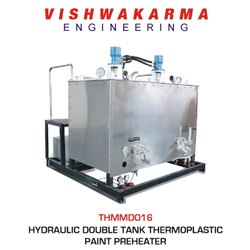Thermoplastic Paint Double Tank Preheater