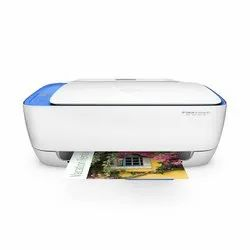 Colored HP DeskJet Ink Advantage 3635 All-in-One Printer (F5S44B), Supported Paper Size: A4, Inkjet