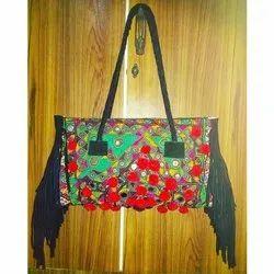 Leather Shoulder Designer Ethnic Ladies Side Bag