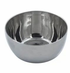 Carbon Round Apple Stainless Steel Bowl, For Home, Hotel