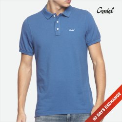 Genial Men's Premium Poly Cotton Collar T-Shirt (PC Pique), Age Group: 18-99