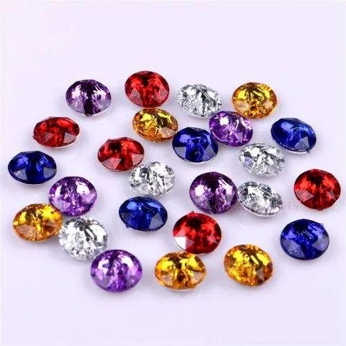 Acrylic Stone Garments Beads
