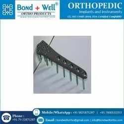 Orthopedic Distal Femur Locking Plate Left