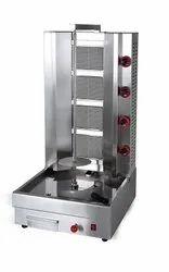 4 Burner Shawarma Machine