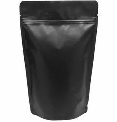 Black Matt finish Stock stand up pouches